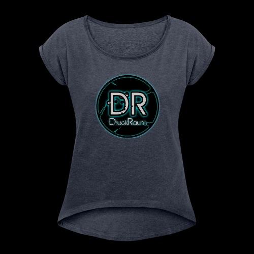DruckRaum Logo - Women's Roll Cuff T-Shirt