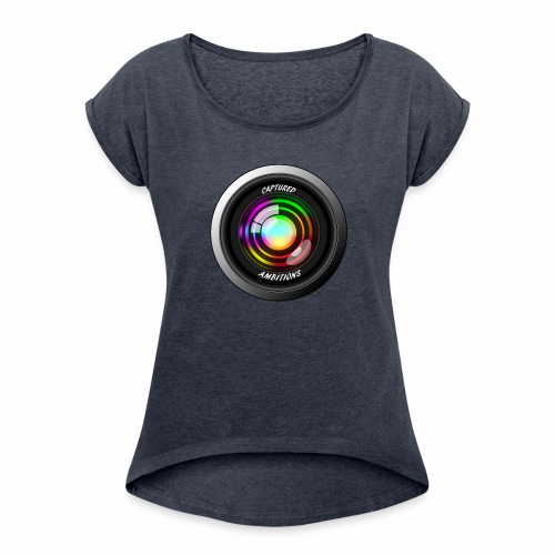 Captured Ambitions - Women's Roll Cuff T-Shirt