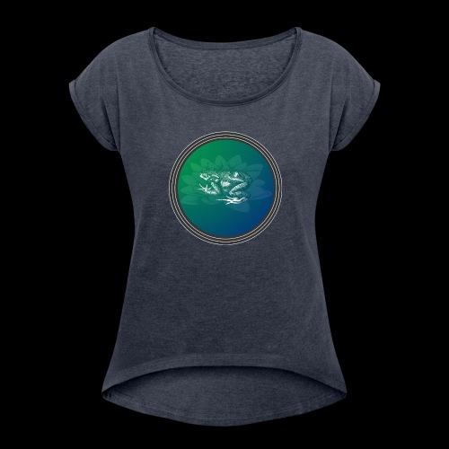 Vintage Frog - Women's Roll Cuff T-Shirt
