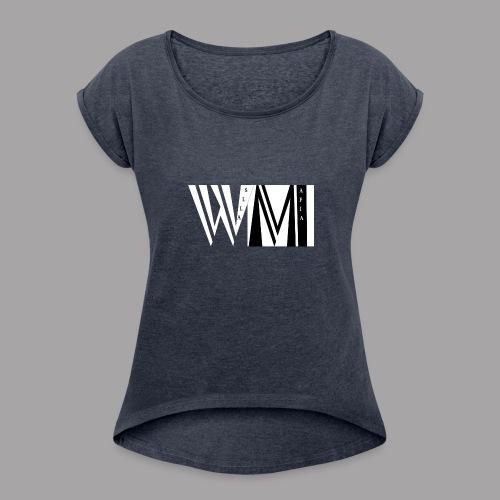 WALLSMAFIAwhite - Women's Roll Cuff T-Shirt