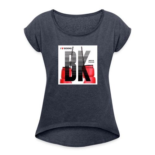 BOXING FINAL - Women's Roll Cuff T-Shirt