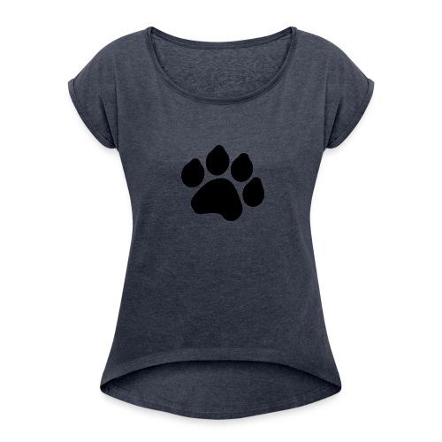 Black Paw Stuff - Women's Roll Cuff T-Shirt