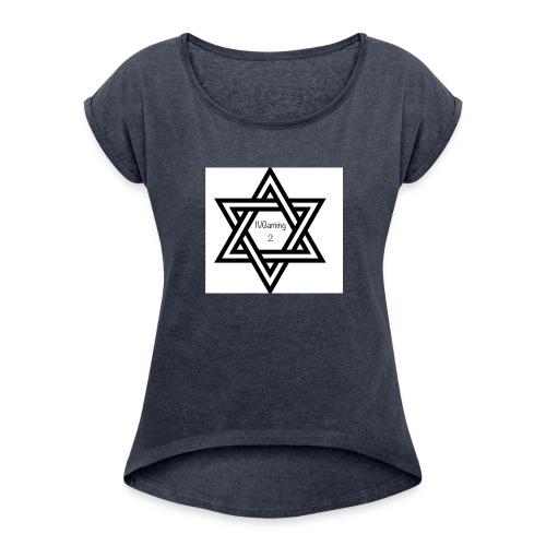 97EE9450 3FF3 4501 956E 6A952045AC73 - Women's Roll Cuff T-Shirt
