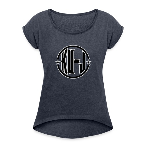Ku-J - Women's Roll Cuff T-Shirt