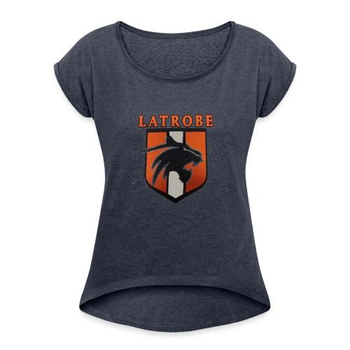 GLBSCtransp - Women's Roll Cuff T-Shirt