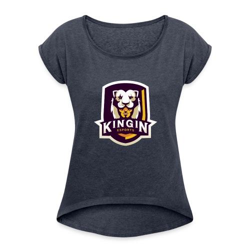 KingIN Esports - Women's Roll Cuff T-Shirt