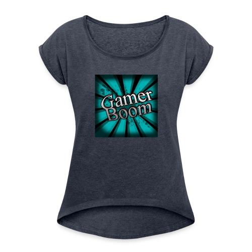 Lo Mejor de GamerBoom - Women's Roll Cuff T-Shirt