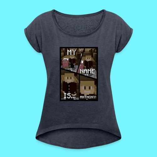 iDMC Comic Strip - Women's Roll Cuff T-Shirt