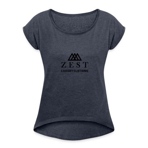 Zest - Women's Roll Cuff T-Shirt
