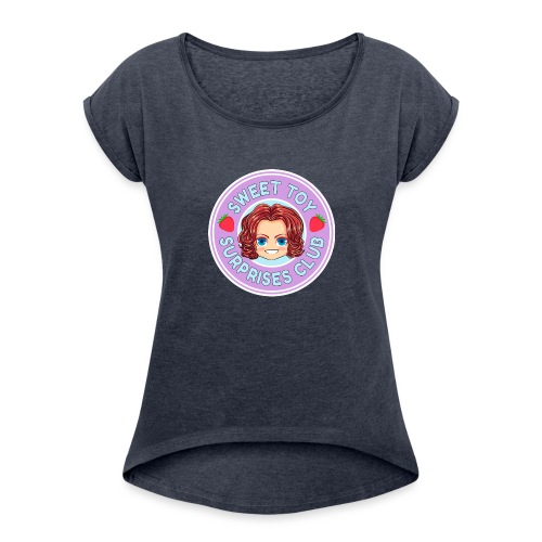 Sweet Toy Surprises Club - Women's Roll Cuff T-Shirt