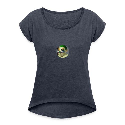 Progamer Phone Case #1 - Women's Roll Cuff T-Shirt