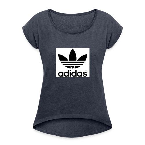 a d i d a s - Women's Roll Cuff T-Shirt