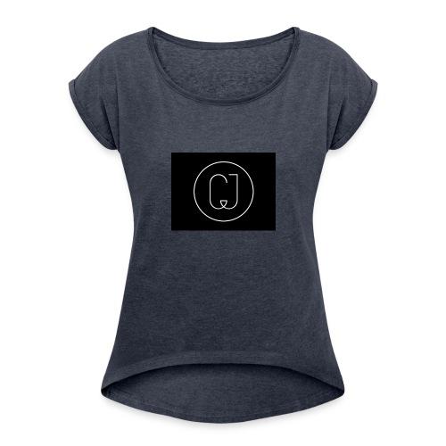 CJ - Women's Roll Cuff T-Shirt