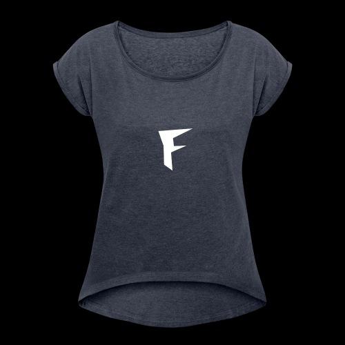 FuZion Logo - Women's Roll Cuff T-Shirt