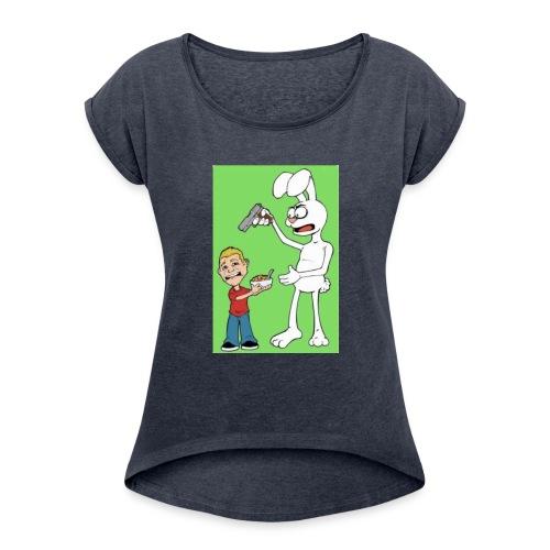 BOONK GANG - Women's Roll Cuff T-Shirt