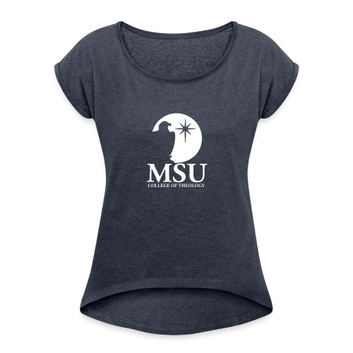 MorningStar College Theology - Women's Roll Cuff T-Shirt