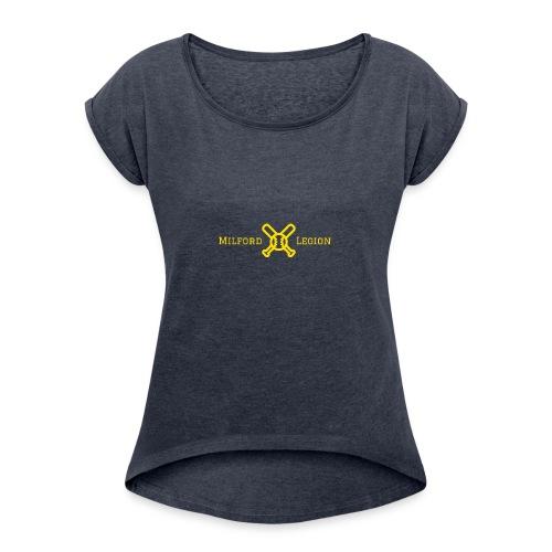 Milford Legion 2017 Logo - Women's Roll Cuff T-Shirt