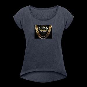 Rapper - Women's Roll Cuff T-Shirt