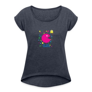 RETRO GAMER - Women's Roll Cuff T-Shirt