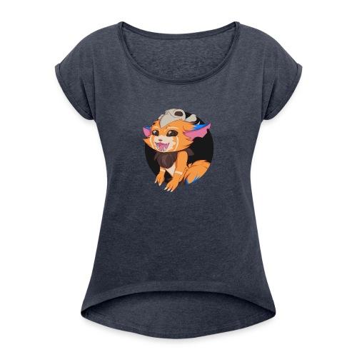 League of Legends - Gnar Cup - Women's Roll Cuff T-Shirt