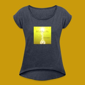 Miracle From Above - Women´s Roll Cuff T-Shirt