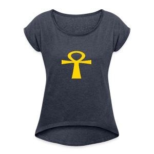 GOLD - Women's Roll Cuff T-Shirt