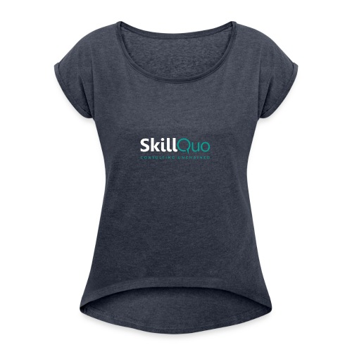 Consulting Unchained - EcoFriendly - Women's Roll Cuff T-Shirt