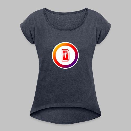 DwillaGaming - Women's Roll Cuff T-Shirt