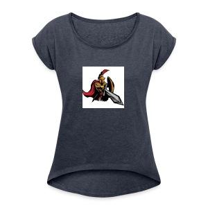 Gladiator - Women's Roll Cuff T-Shirt