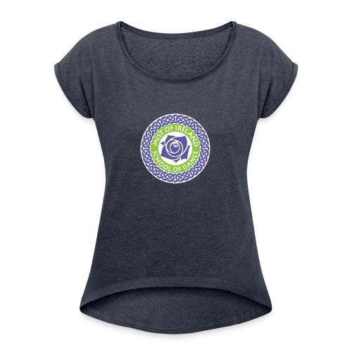 MOIFinal - Women's Roll Cuff T-Shirt