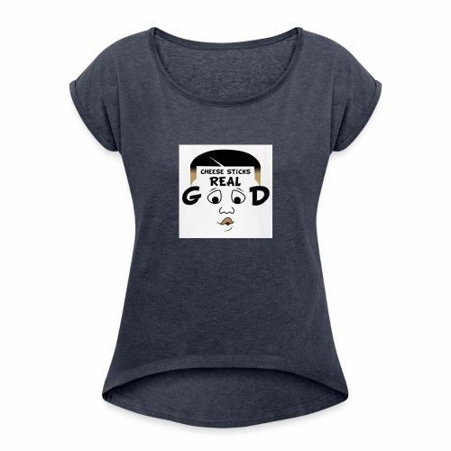 Ronboitv - Women's Roll Cuff T-Shirt
