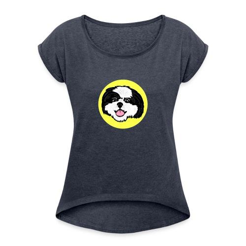Skeeter Yellow - Women's Roll Cuff T-Shirt