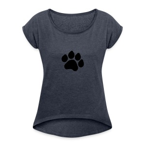 Black Paw Stuff - Women's Roll Cuff T-Shirt