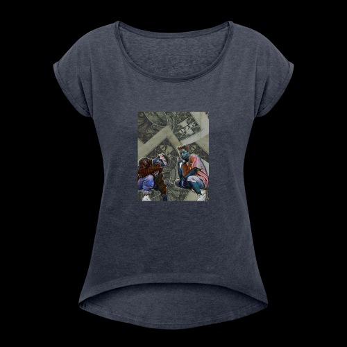 Kill$x,T3 - Women's Roll Cuff T-Shirt