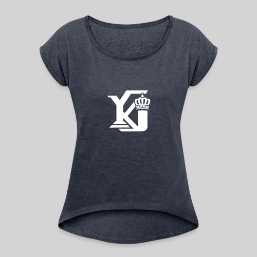 Evolve Sports Young King 17 - Women's Roll Cuff T-Shirt
