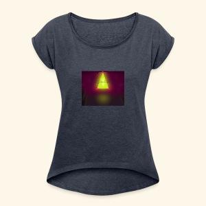 OXENFREE - Women's Roll Cuff T-Shirt