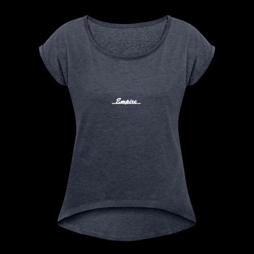 hoodie2 - Women's Roll Cuff T-Shirt
