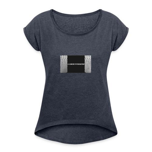 GameHunter16709 - Women's Roll Cuff T-Shirt