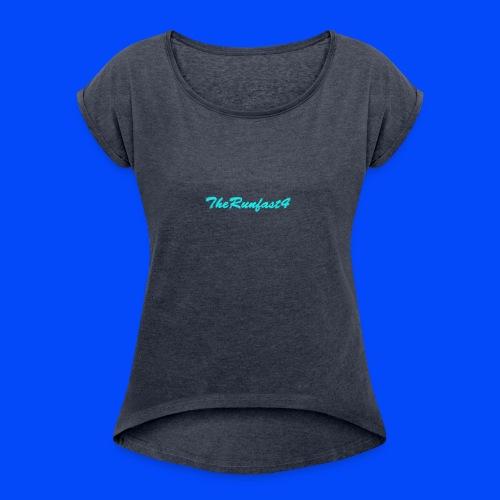 Official Brand - Women's Roll Cuff T-Shirt