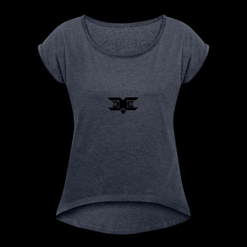 wow - Women's Roll Cuff T-Shirt