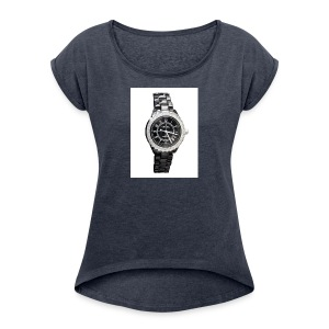 Chanel J12 watch - Women's Roll Cuff T-Shirt