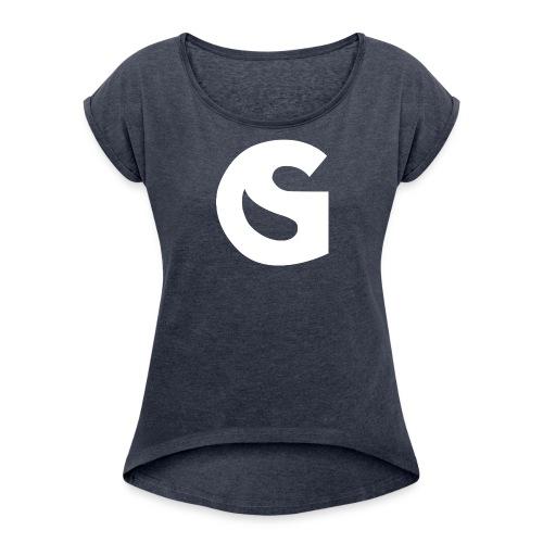 SimulationGuru Icon - Women's Roll Cuff T-Shirt