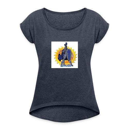 Angel Army - Women's Roll Cuff T-Shirt