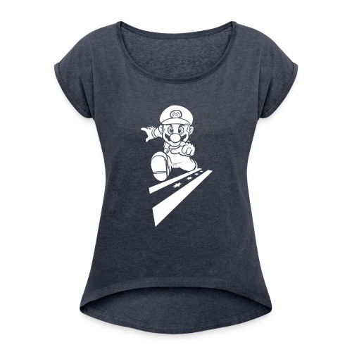 super1 - Women's Roll Cuff T-Shirt