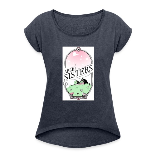 The Able Sisters - Women's Roll Cuff T-Shirt