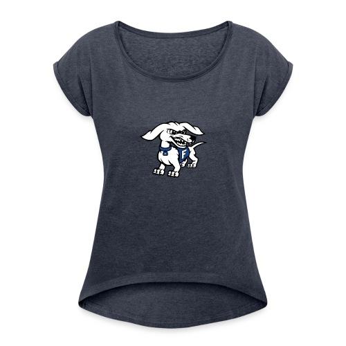 Frankfort HotDog - Women's Roll Cuff T-Shirt