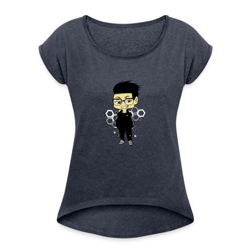 iBeat - Official Design - Women's Roll Cuff T-Shirt