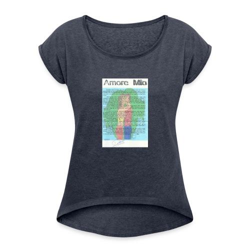 amor 003 - Women's Roll Cuff T-Shirt