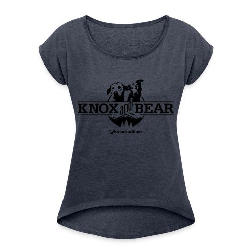 knox-and-bear - Women's Roll Cuff T-Shirt