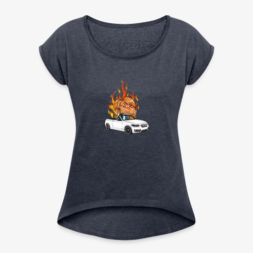 Angry Rage - Women's Roll Cuff T-Shirt
